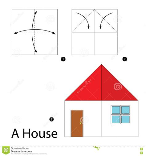 how to make origami house 3d origami house comot