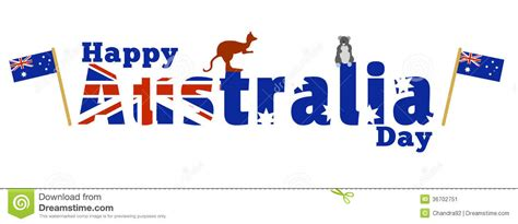 Australian Wall Stickers happy australia day stock image image 36702751