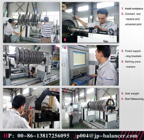 Electric Motor Balancing by Electric Motor Rotor Armature Balancing Machine 103831011