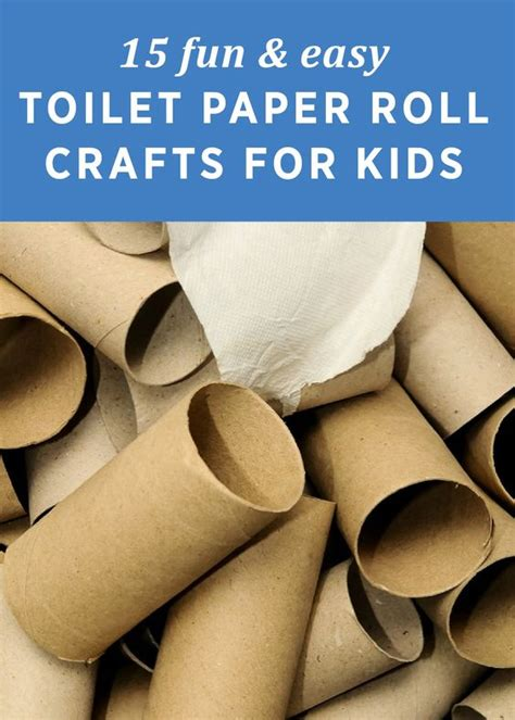 easy crafts using toilet paper rolls 15 easy toilet paper roll crafts for toilets