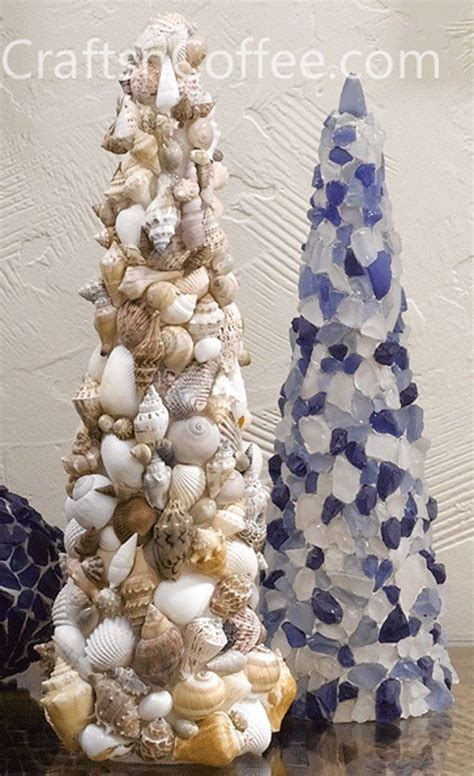 seashell craft projects 25 unique sea glass mosaic ideas on broken
