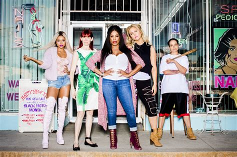 new show claws tnt previews their nail salon dramedy