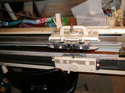 how to use a knitting machine machine knitting introduction wikibooks open books for