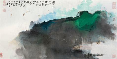 znag painting zhang daqian mount lu 1979 china museum