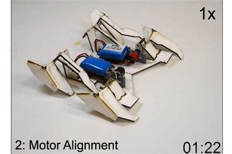 origami robot the amazing origami robot that self assembles and