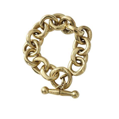 chain links for jewelry vaubel link chain bracelet in metallic lyst