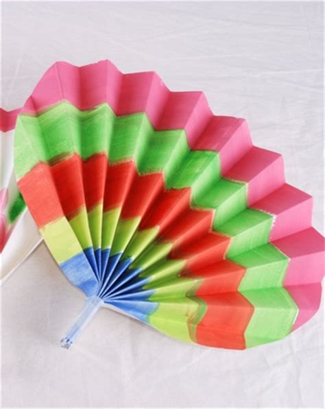 paper fan craft korean paper fans princess and history