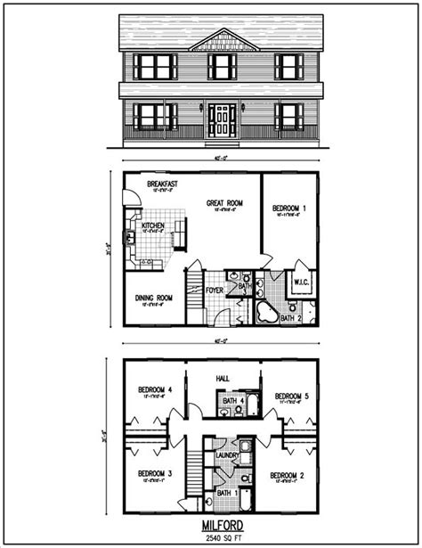 2 story floor plans beautiful 2 story house plans with level floor plan