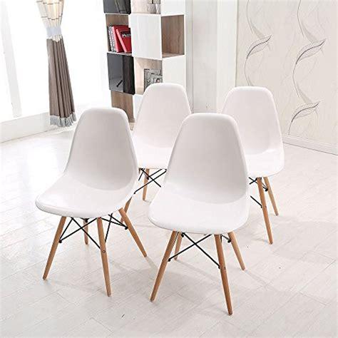 wv leisuremaster lot de 4 chaises blanches de salle 224