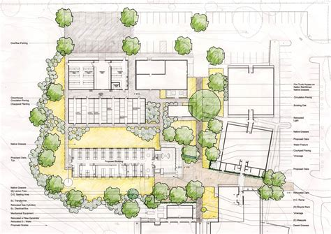 site plan carnegie department of global ecology