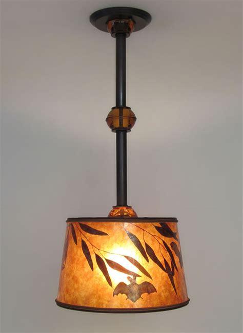 hanging light fixtures mica hanging ceiling light fixture with bats
