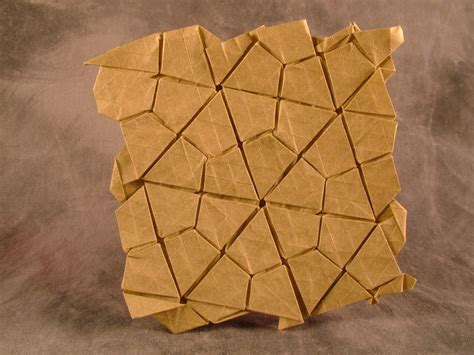 origami tessellation diagrams thinking sketches 3 4 6 4 waterbomb flagstone