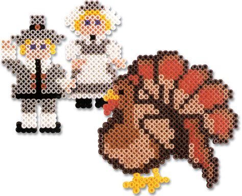 perler bead turkey pattern thanksgiving perler bead patterns u create
