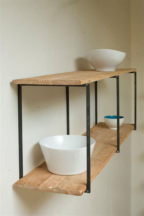 floating shelves reclaimed wood beautiful floating shelves made of reclaimed wood
