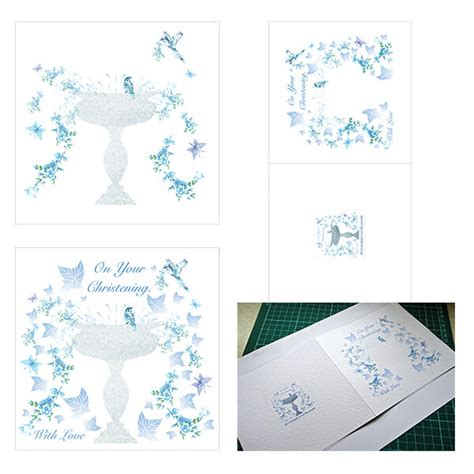 christening cards to make how to make a handmade christening card decorque cards