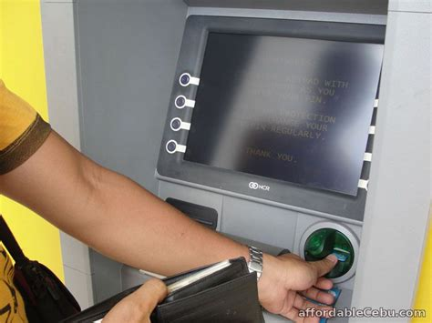 atm card machine how to withdraw money in the atm machine in philippines