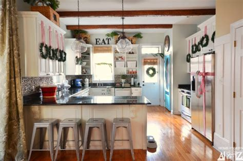 Lowes Kitchen Island Cabinet tips on how to decorate your kitchen for christmas home