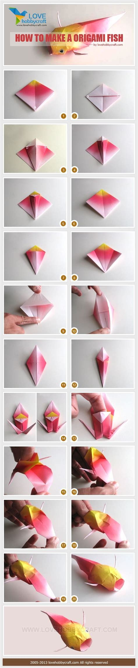 how to make an origami koi fish step by step 25 best ideas about origami fish on origami