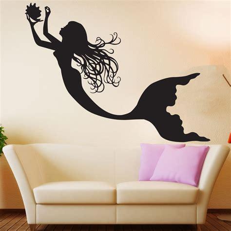 Butterfly Wall Murals mermaid wall decal art decor nursery sticker mermaid wall art