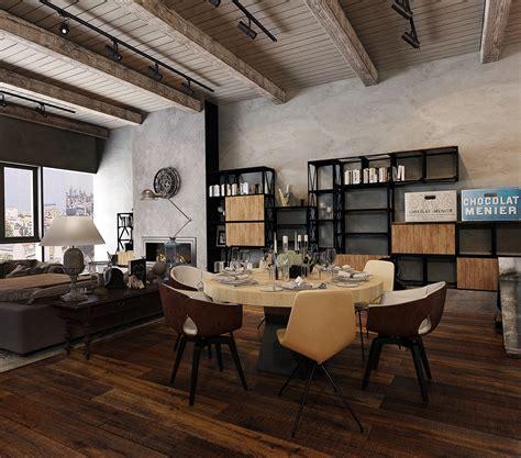 industrial home interior design rustic industrial design interior design ideas