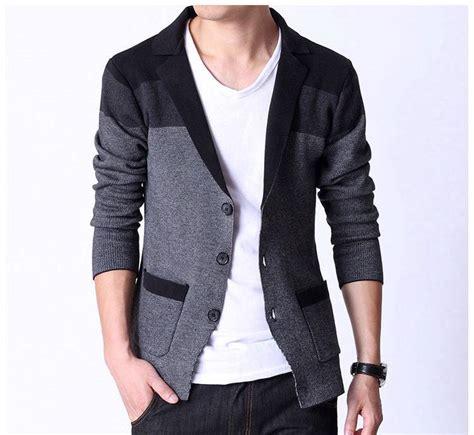 knit blazer mens 2014 fashion mens blazer knit style sweater cotton suit