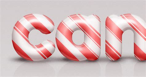 free candy cane psd text effect age themes