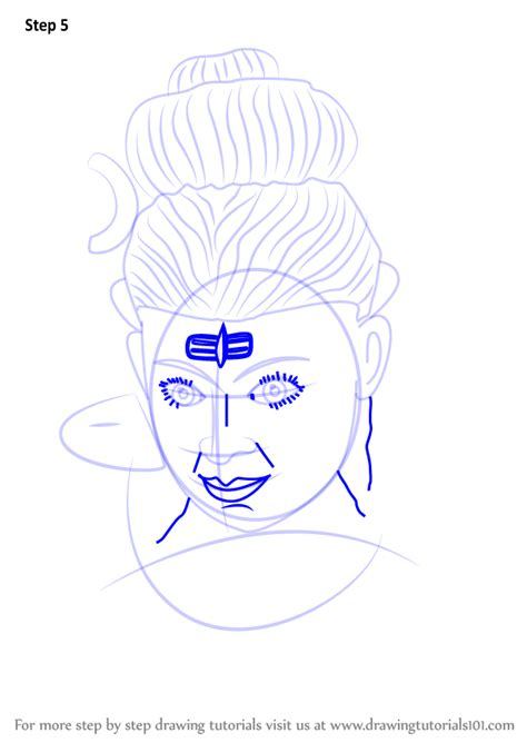learn how to draw lord shiva statue hinduism by