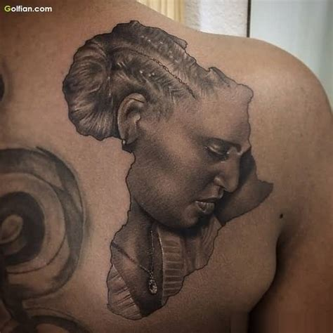 35 most amazing african map tattoo designs golfian com