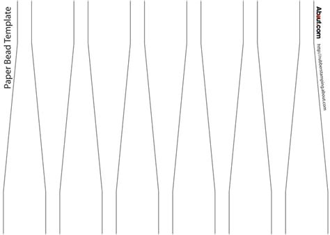 paper bead templates pin by lu johnston on paper