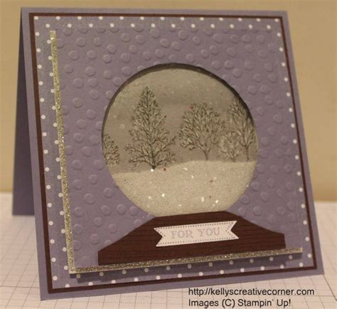 how to make a snow globe card snow globe card tutorial card techniques