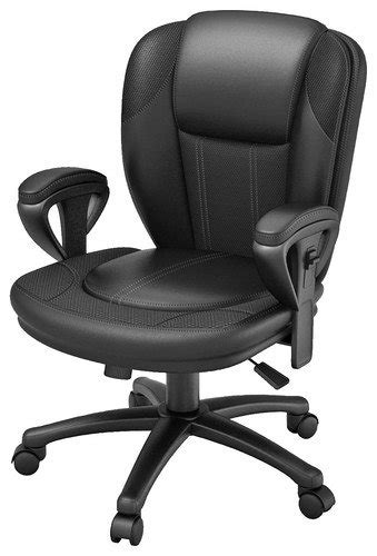 Best Buy Chair by Z Line Designs Leather Office Chair Black Zl3006 01mcu