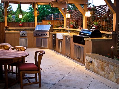 outside kitchen design ideas outdoor kitchens by premier deck and patios san antonio tx