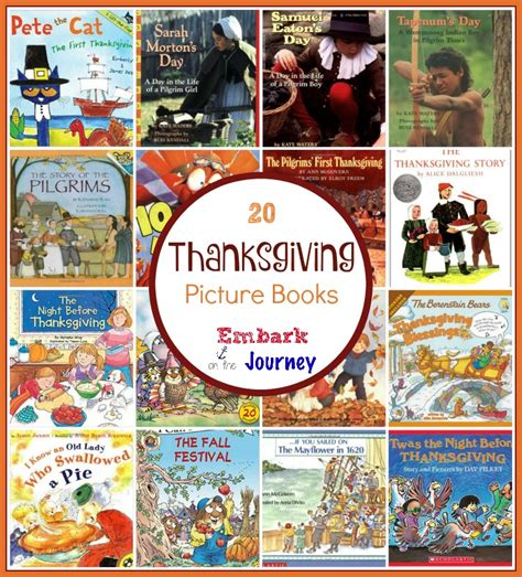 thanksgiving picture books best thanksgiving picture books embark on the journey