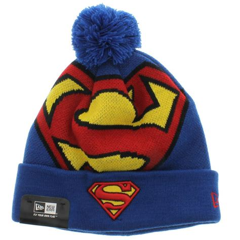 ta bay lightning knit hat superman the woven biggie knit new era beanie with pom new