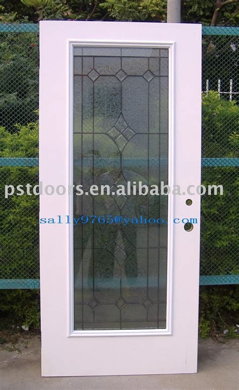 steel glass panel exterior door metal glass doors doors