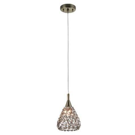 mini pendant light shades home decorators collection 1 light antique bronze with