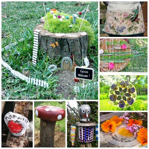 garden craft ideas for garden crafts challenge get your craft on ted s
