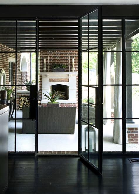 steel patio doors steel framed patio doors transitional deck patio