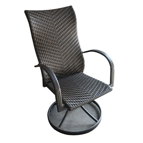 swivel chairs outdoor outdoor swivel dining chairs shop outdoor greatroom