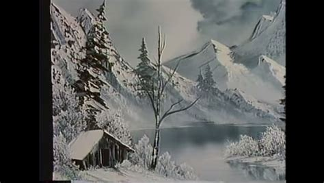 bob ross painting black and white it s shades of grey with a bob ross twist mnn