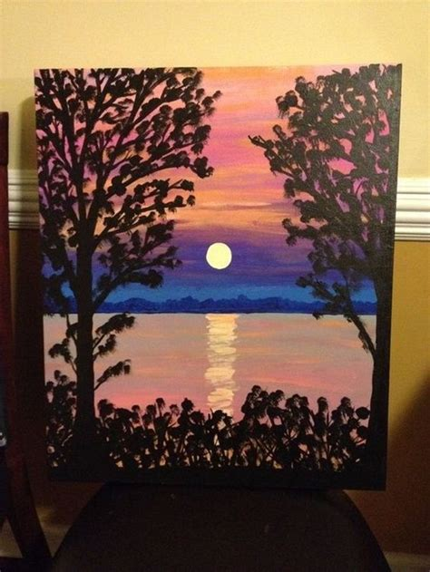 how to cover acrylic paint on canvas 25 best painting ideas for beginners on