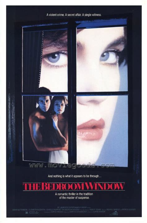 the bedroom window isabelle huppert the bedroom window reproduction poster