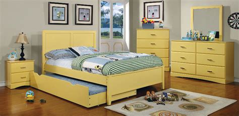 yellow bedroom furniture prismo yellow wood bedroom set las vegas furniture store