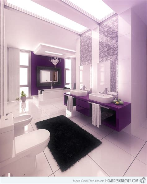 Remodeling Small Master Bathroom Ideas 15 majestically pleasing purple and lavender bathroom