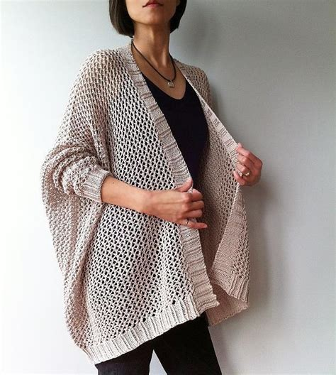 simple knitted cardigan pattern easy trendy cardigan knit knitting pattern by