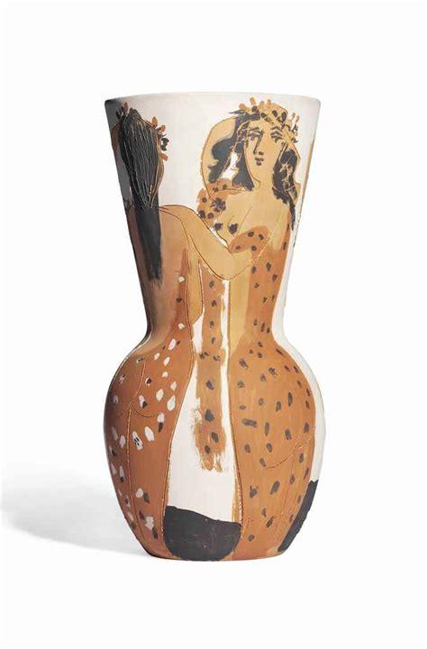picasso paintings vase pablo picasso 1881 1973 grand vase aux femmes voil 233 es