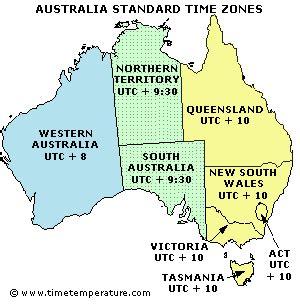 is it in australia now australia time zones australia current time