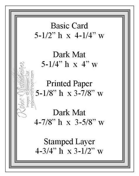 card sketches for card ideas sketch matting measurements crafty things