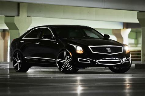 Cadillac On Rims cadillac xts on 22 inch rims