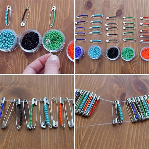 things to make with besides jewelry preparing for times things to do with safety pins